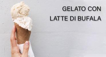 gelato latte di bufala